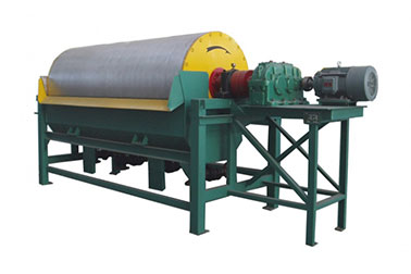 Drum permanent magnetic separator for oversize particle(CT series )